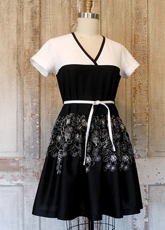 Bella Dress bw
