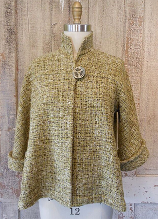 Swing Coat Green