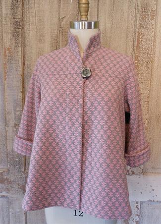 Swing Coat Pink