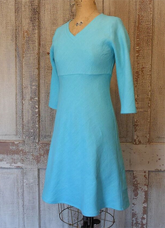 Shaper Dress  Turquoise