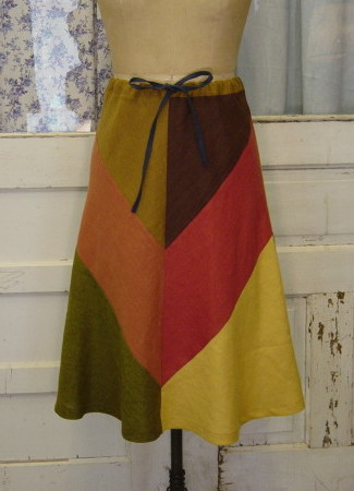 PATCHWORK SKIRT 3
