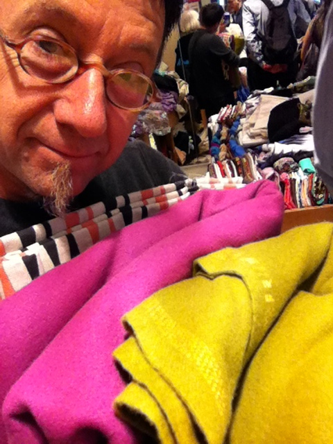 Paris fabric shopping