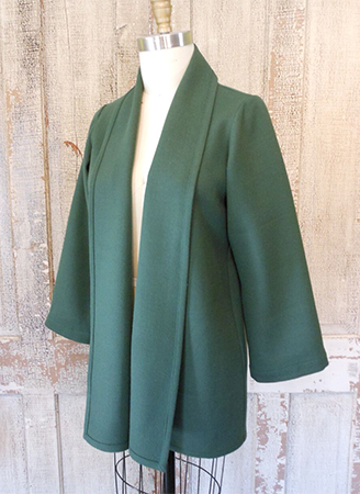 Davinci Jacket Solid Green