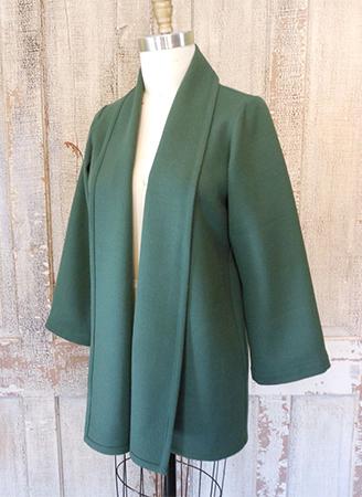 Davinci Jacket Solid Green
